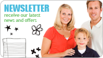 Newletter - receive our latest news and offers
