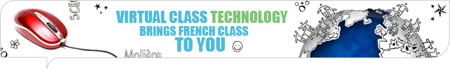 Virtual class technology brings the French class to you